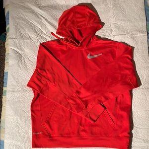 Men's red Nike hoodie